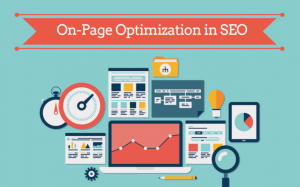 Image of an On page optimization illustration