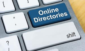 Image of Online Roofing Directories written