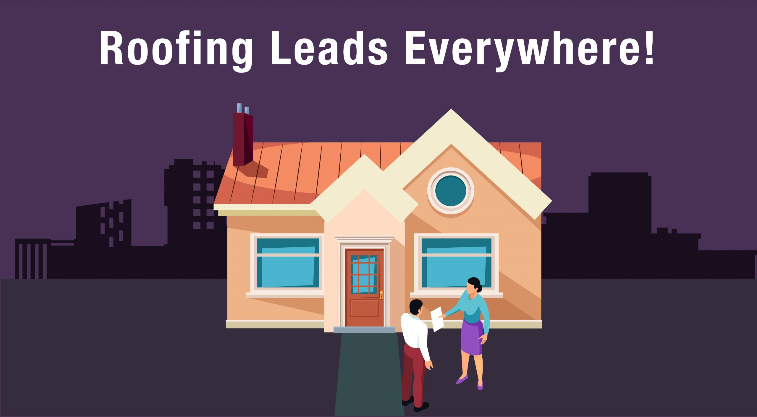 pic of neighborhood canvass- how to get more roofing leads