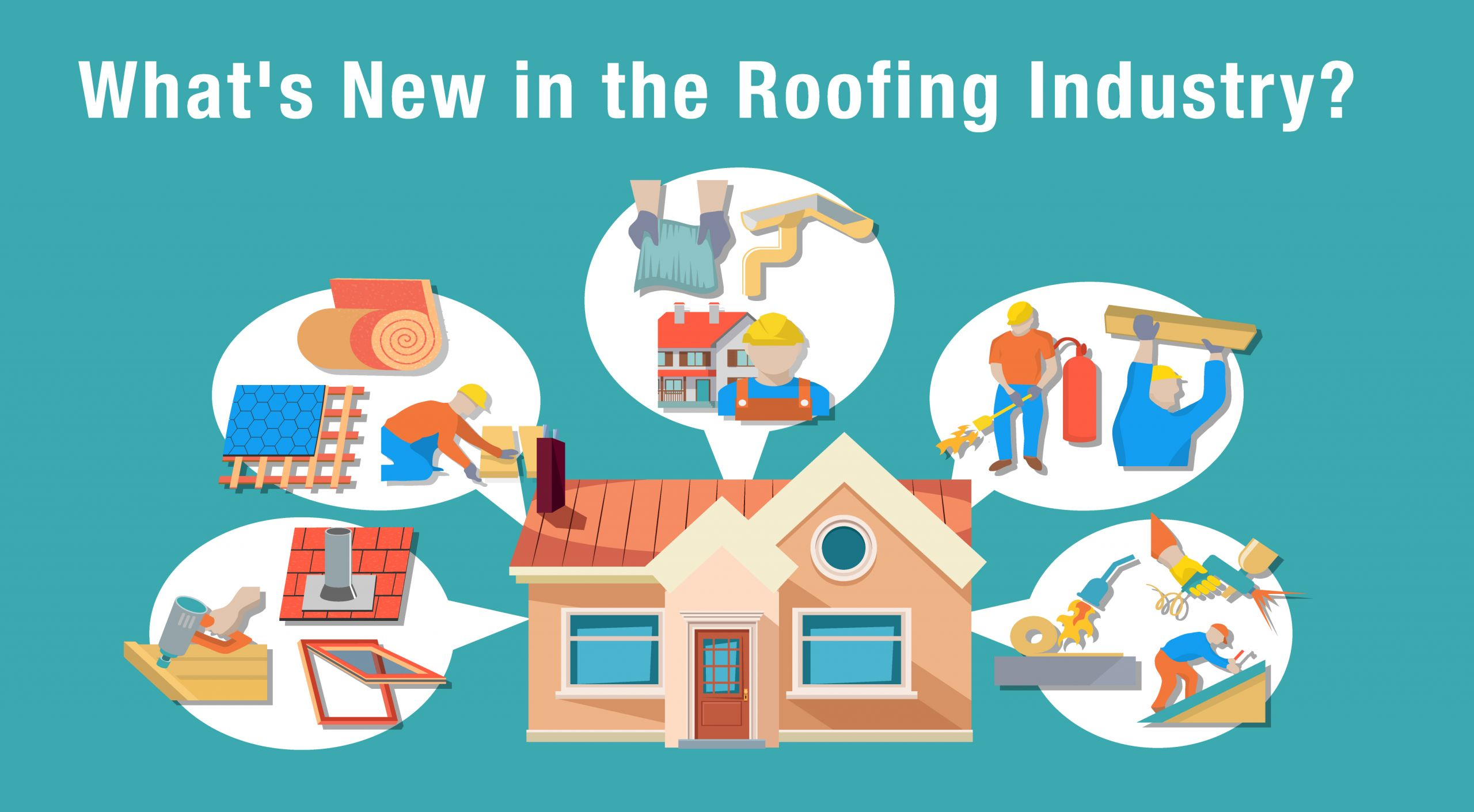 image of latest roofing industry trends